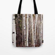 Winter Aspen Tote Bag