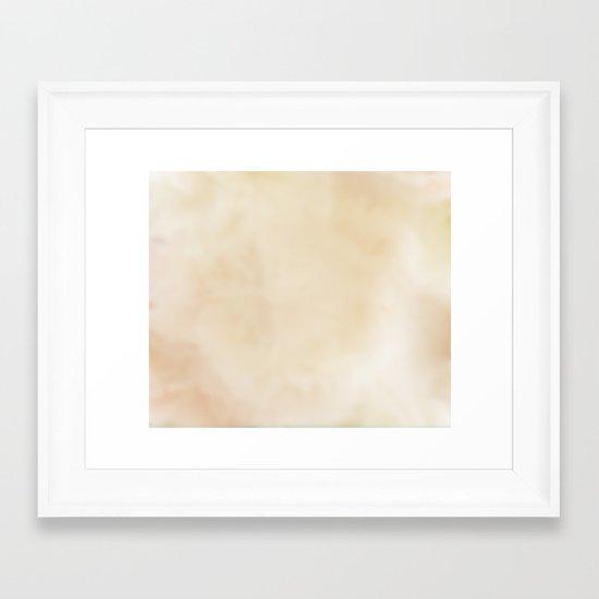 WhiteWash Framed Art Print