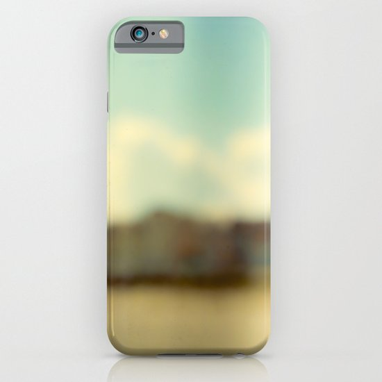 Blurry Beach Houses  iPhone & iPod Case