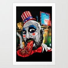 Killer Circus Art Print