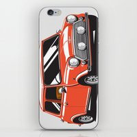 Mini Cooper Car - Red iPhone & iPod Skin
