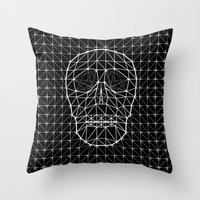 Triangle And Line Art Sk… Throw Pillow