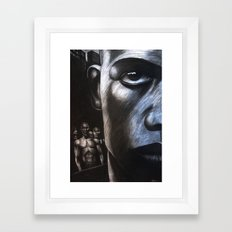 NY FACE Framed Art Print