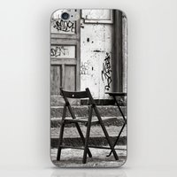 Just Two Chairs - Catania - Sicily - Italy  iPhone & iPod Skin