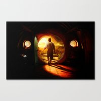 Bilbo's Journey - Painti… Canvas Print