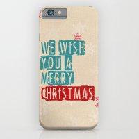 We Wish You A Merry Chri… iPhone 6 Slim Case