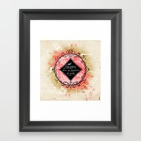 L'univers Framed Art Print