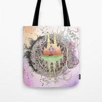 Master Of Dimensions Tote Bag