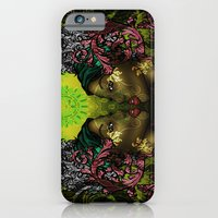iPhone & iPod Case featuring Ital Twins by Andre O Gray