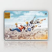 You're Hired by Mel Zahar Laptop & iPad Skin