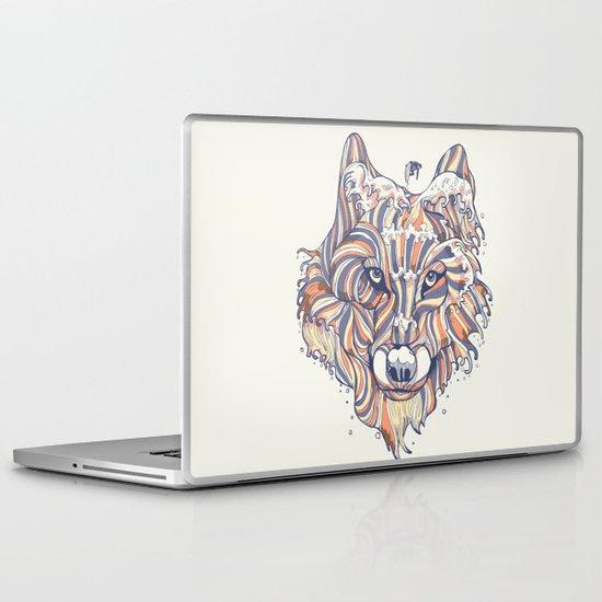 Wave Wolf Laptop & iPad Skin