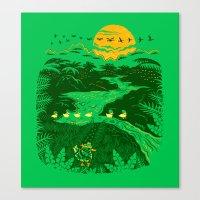Apocalypse Now : Reducks Canvas Print