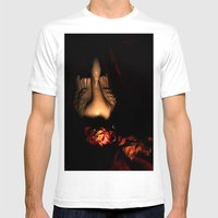 Dead Romance Mens Fitted Tee White SMALL