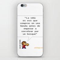 Alex Kidd: ¿Qué es la vida? iPhone & iPod Skin