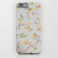 vintage floral vines - spring colors iPhone 6s Slim Case