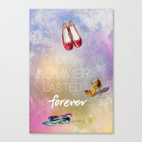 If Only Summer Lasted Fo… Canvas Print
