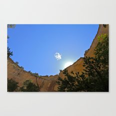 Lonely Cloud  Canvas Print