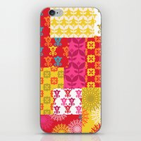Happy Retro Mix 1 iPhone & iPod Skin