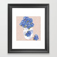 Afternoon Bouquet Framed Art Print