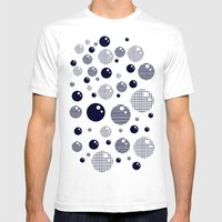 Bubblemagic Mens Fitted Tee White SMALL