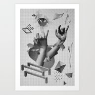 Art Print featuring Hands by Oh Yeah Studio