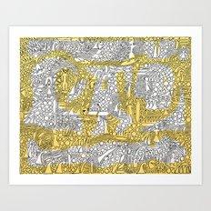 Alibi Art Print