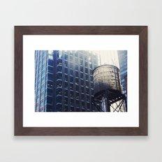 TMNT view Framed Art Print