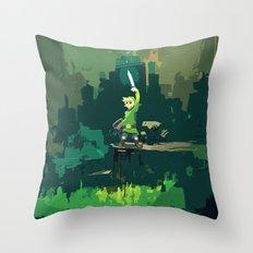 Legend Of Zelda Link Painting Art Throw Pillow