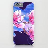 Magnolia night iPhone 6 Slim Case