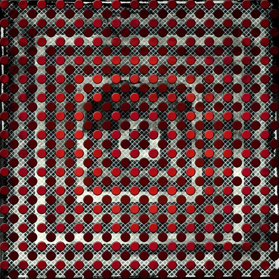 RedDrops Art Print