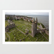 St Andrews Cathedral Art Print