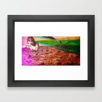 Life On Mars? Framed Art Print