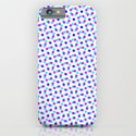 PINK & BLUE DOT iPhone & iPod Case