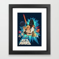 Star Wars FanArt: Rats W… Framed Art Print