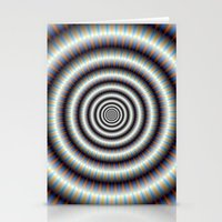 Hypnotic Rings Stationery Cards