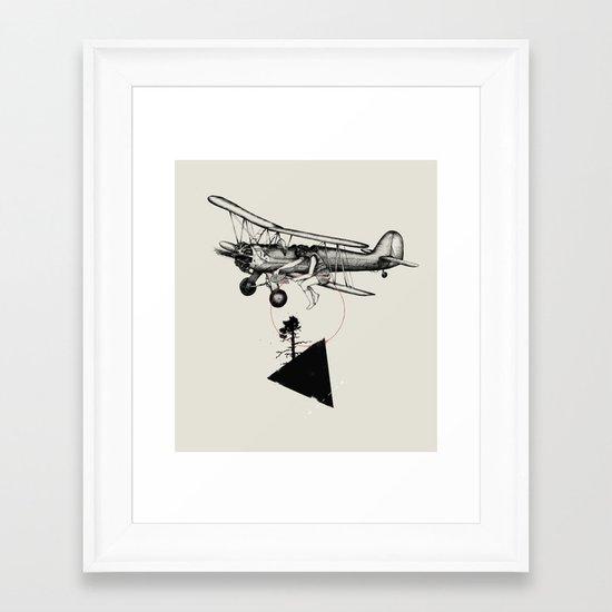 The Catcher Framed Art Print