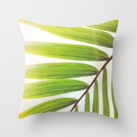 Jungle Abstract Throw Pillow