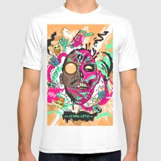 Flying Lotus SMALL Mens Fitted Tee White
