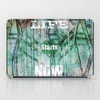 Life Starts Now iPad Case