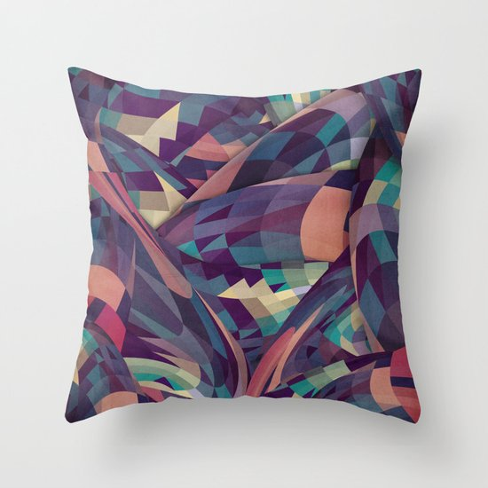 Marchin Throw Pillow