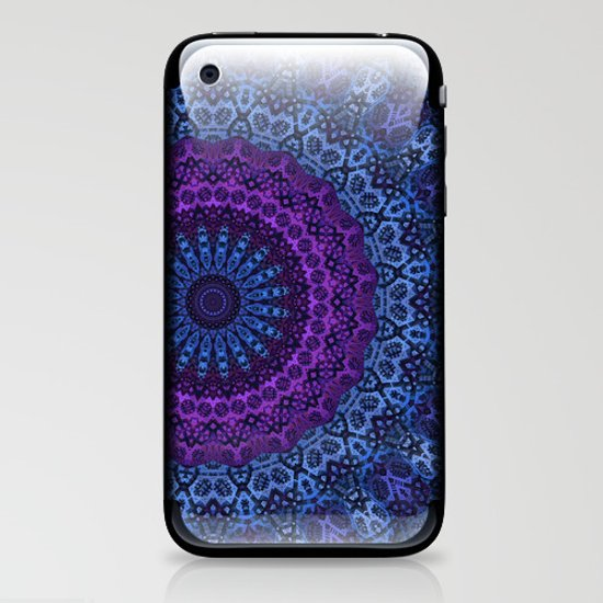 Twilight Mandala iPhone & iPod Skin