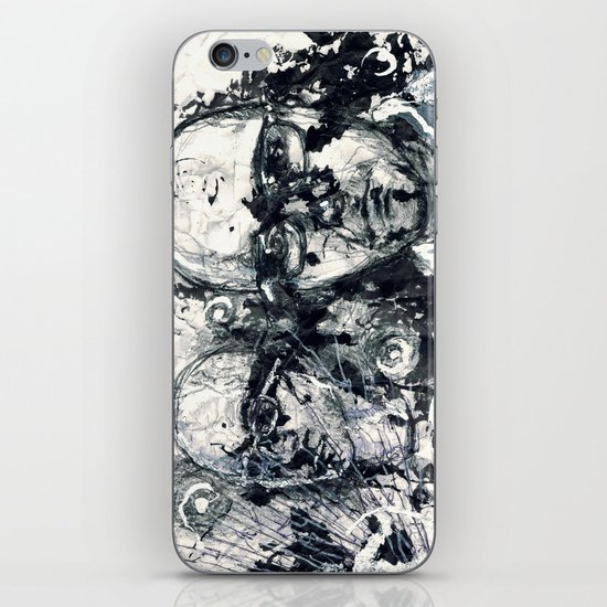 """""""Destroyed"""" by Cap Blackard iPhone & iPod Skin"""
