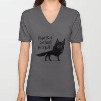 Canis Lupus Unisex V-Neck