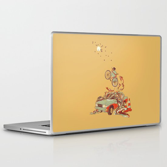 Whole New way Laptop & iPad Skin