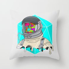 Psychonaut - Light Throw Pillow