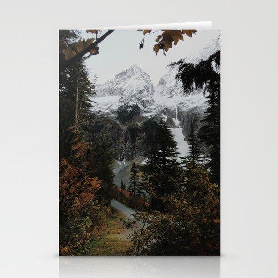 Cascade River Rd Stationery Card