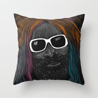 George Clinton Throw Pillow