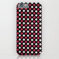 Hashtag Pattern iPhone 6 Slim Case