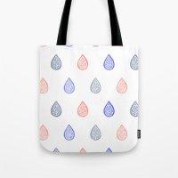 Rose Quartz, Serenity Bl… Tote Bag
