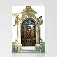 Italian door Stationery Cards
